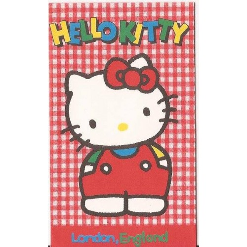 Ano 1990. Mini-Envelope Antigo (Vintage) Hello Kitty 01 Sanrio