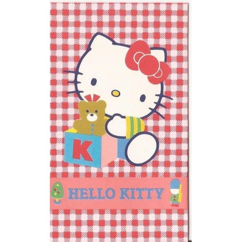 Ano 1987. Mini-Envelope Antigo (Vintage) Hello Kitty 02 Sanrio