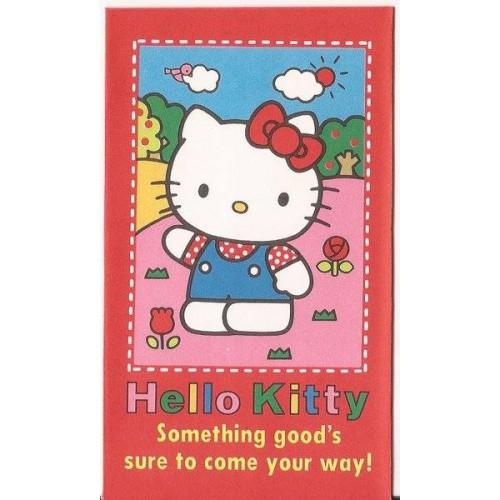 Ano 1992. Mini-Envelope Antigo (Vintage) Hello Kitty 03 Sanrio