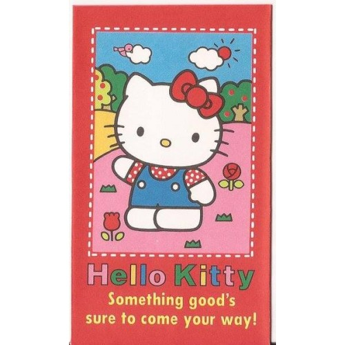 Ano 1992. Mini-Envelope Antigo (Vintage) Hello Kitty 03 Sanrio