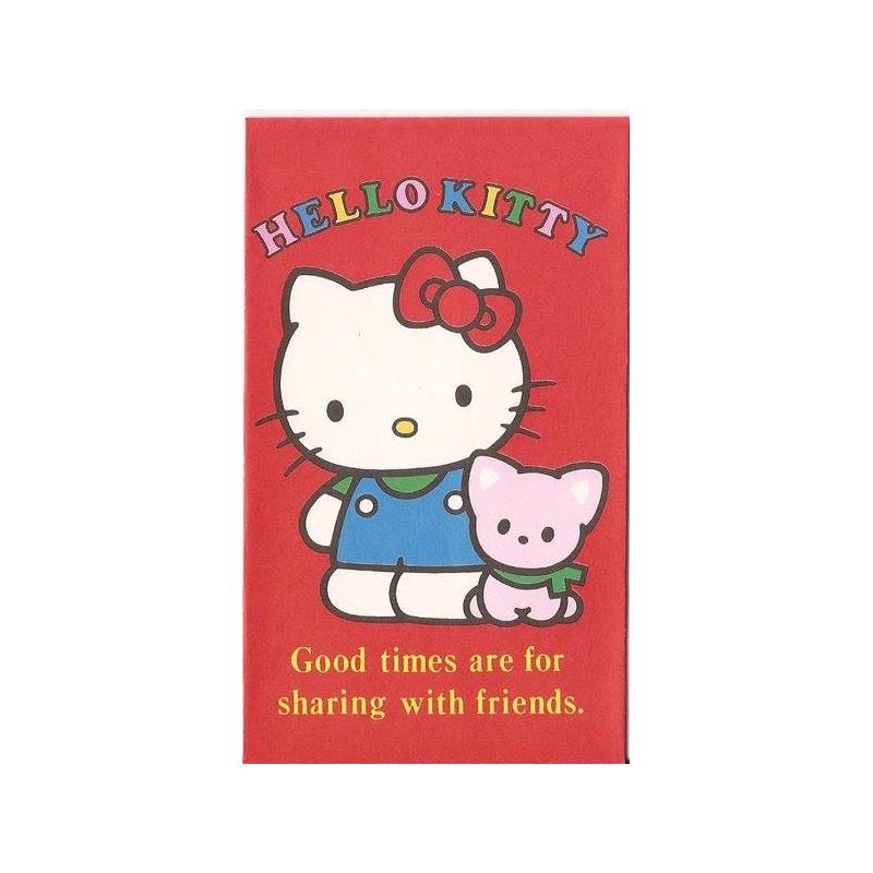 Ano 1990. Mini-Envelope Antigo (Vintage) Hello Kitty 04 Sanrio