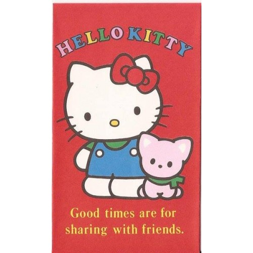 Ano 1990. Mini-Envelope Antigo (Vintage) Hello Kitty 04 Sanrio