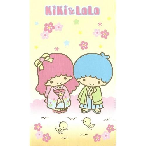 Ano 2003. Mini-Envelope Little Twin Stars Sanrio