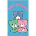 Ano 1985. Mini-Envelope ABC Bears Vintage Sanrio