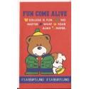 Ano 1987. Mini-Envelope Fun Come Alive Vintage Sanrio