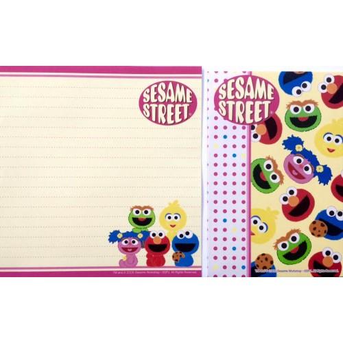 Conjunto de Papel de Carta IMPORTADO Sesame Street 01
