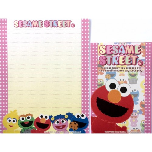 Conjunto de Papel de Carta IMPORTADO Sesame Street 04
