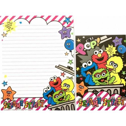 Conjunto de Papel de Carta IMPORTADO Sesame Street 10