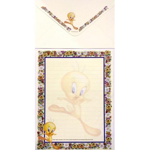 Conjunto de Papel de Carta ANTIGO Looney Tunes 04