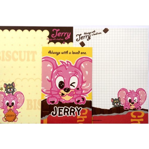 Conjunto de Papel de Carta IMPORTADO Tom & Jerry 01