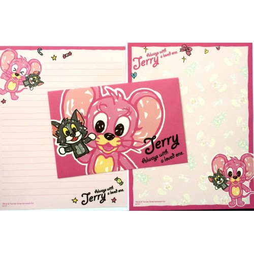 Conjunto de Papel de Carta IMPORTADO Tom & Jerry 03