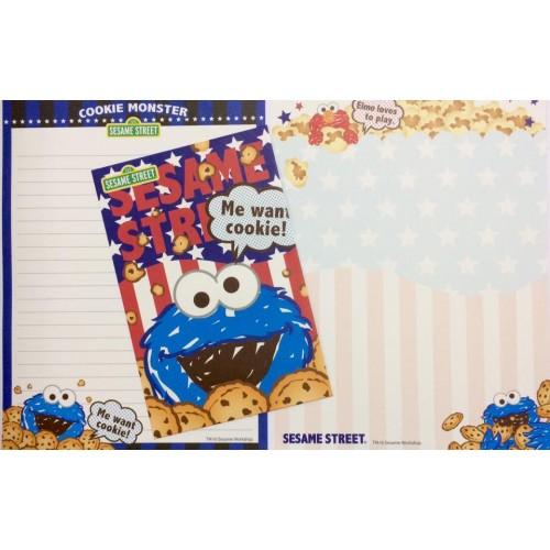 Conjunto de Papel de Carta IMPORTADO Sesame Street (AZ)