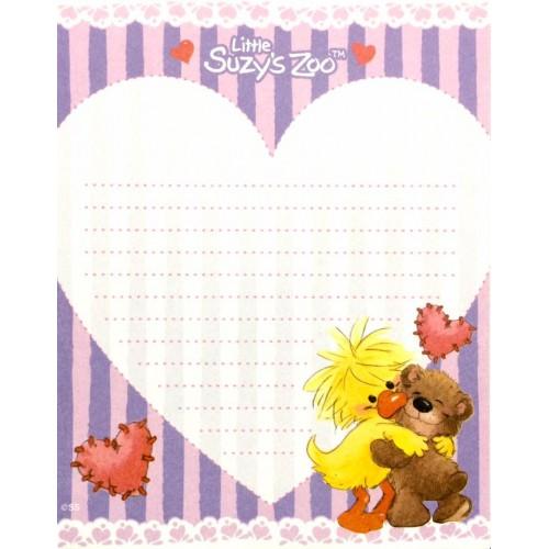 Papel de Carta IMPORTADO Suzy's Zoo M7