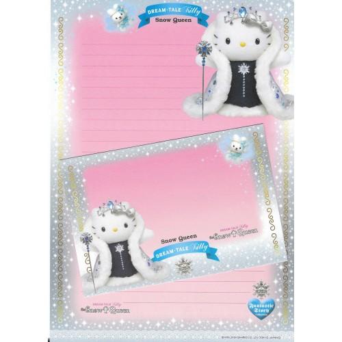 Ano 2004. Papel de Carta DREAM TALE Kitty - The Snow Queen - Sanrio