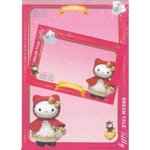 Ano 2004. Papel de Carta DREAM TALE Kitty - Little Red Riding Hood - Sanrio