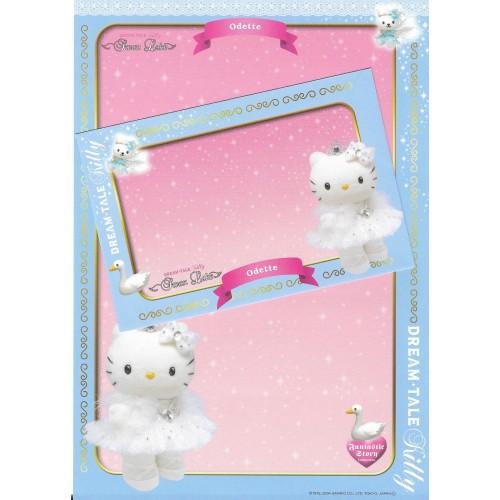Ano 2004. Papel de Carta DREAM TALE Kitty - Swan Lake - Sanrio