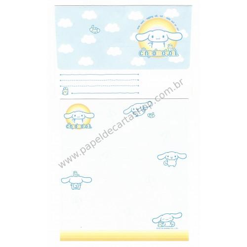 Ano 2003. Conjunto de Papel de Carta Cinnamoroll Cloud