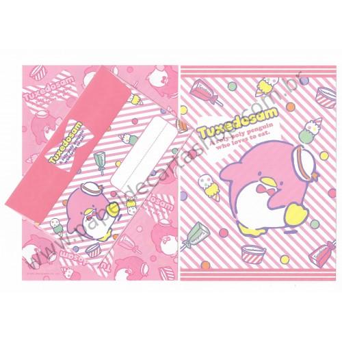 Ano 2010. Conjunto de Papel de Carta Tuxedosam Sanrio 50th