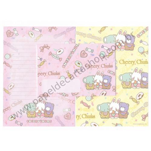 Ano 2010. Conjunto de Papel de Carta Cheery Chums Sanrio 50th Anniversary