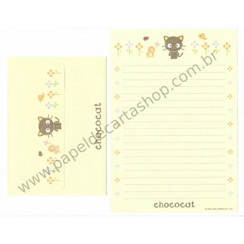 Ano 2005. Conjunto de Papel de Carta Chococat (AM 01) Sanrio