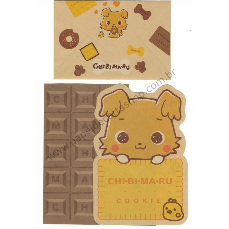 ANO 2004. Conjunto de Papel de Carta Chibimaru Cookie Sanrio