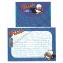 Ano 1997. Conjunto de Papel de Carta Pekkle Off Balance Antigo (Vintage) Sanrio