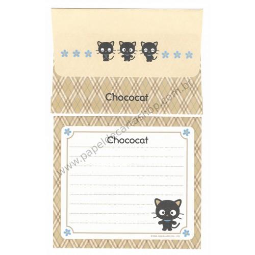 Ano 2000. Conjunto de Papel de Carta Chococat Dupla 1 Antigo (Vintage) Sanrio