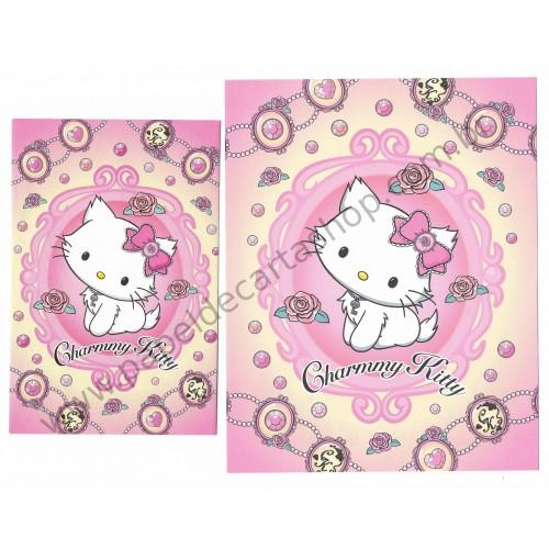 Ano 2008. Conjunto de Papel de Carta Charmmy Kitty Rs Sanrio