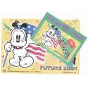 Conjunto de Papel de Carta Antigo (Vintage) Little Bobdog American Hero Wealthyluck Sunward