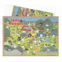Ano 1991. Conjunto de Papel de Carta Antigo (Vintage) Tama & Friends G - Sony