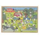 Ano 1991. Papel de Carta Avulso Antigo (Vintage) Tama & Friends G - Sony