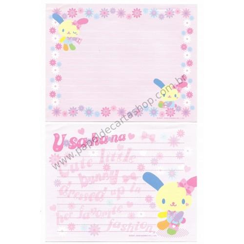 Ano 2006. Conjunto de Papel de Carta U*sa*ha*na - Sanrio
