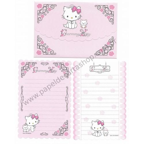 Ano 2005. Conjunto de Papel de Carta Charmmy Kitty Dupla P Sanrio