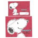 Conjunto de Papel de Carta Snoopy VM Peanuts