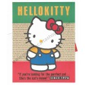Ano 1989. Conjunto de Papel de Carta Hello Kitty London Sanrio