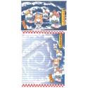Ano 2002. Conjunto de Papel de Carta Gotōchi Kitty Regional 29 Sanrio