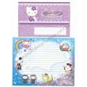 Ano 2007. Conjunto de Papel de Carta Gotōchi Kitty Hokkaido Sanrio