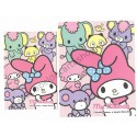 Ano 2014. Conjunto de Papel de Carta My Melody A Happy Melody Sanrio