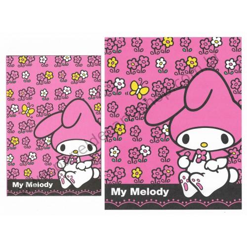 Ano 2013. Conjunto de Papel de Carta My Melody M Pink Sanrio