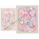 Ano 2013. Conjunto de Papel de Carta Little Twin Stars Wonder and Fun Sanrio