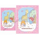 Ano 2008. Conjunto de Papel de Carta Little Twin Stars Forest Sanrio