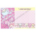 Ano 2012. Kit 4 Conjuntos de Papel de Carta Little Twin Stars Sparkles and Smiles2 Sanrio