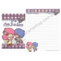 Ano 2012. Kit 2 Conjuntos de Papel de Carta Little Twin Stars T&S Sanrio