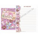 Ano 2011. Kit 2 Conjuntos de Papel de Carta My Melody Happy & Love Sanrio
