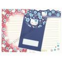 Ano 1999. Conjunto de Papel de Carta Hello Kitty Regional Japão VM&AZ Sanrio