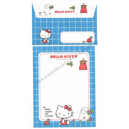 Ano 2004. Conjunto de Papel de Carta Hello Kitty Best Collection 06 Sanrio