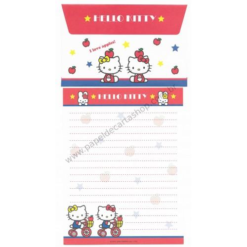 Ano 2004. Conjunto de Papel de Carta Hello Kitty Best Collection 10 Sanrio