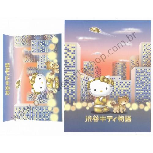 Ano 2000. Conjunto de Papel de Carta Hello Kitty 21st Century 2