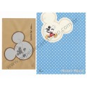 Conjunto de Papel de Carta Importado Disney Mickey Mouse Sea8 (AZ)