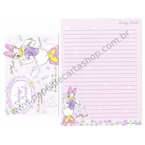 Conjunto de Papel de Carta Disney Daisy Duck (RS)